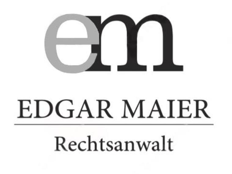 Rechtsanwalt Edgar Maier, Kempten